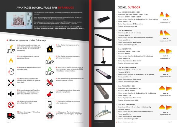 Print Catalogue DEGXEL HEATERS